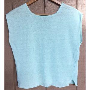 Eileen Fisher boxy Linen Sweater